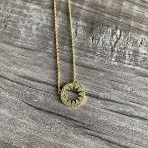 Jewelry - Gold sun necklace